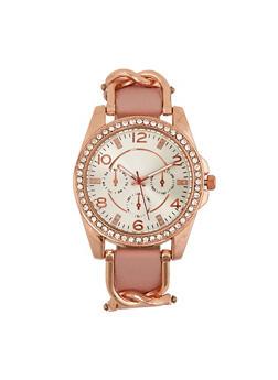 Pink Rhinestone Jewelry