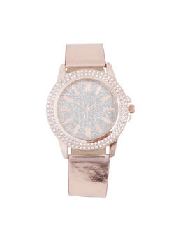 Glitter Rhinestone Watch - 3140071432361