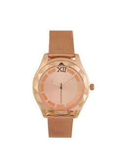 Metallic Mesh Strap Watch - 3140071432514