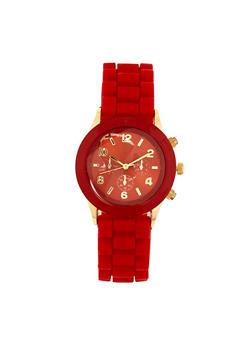 Rubber Strap Watch | 3140071432785 - 3140071432785