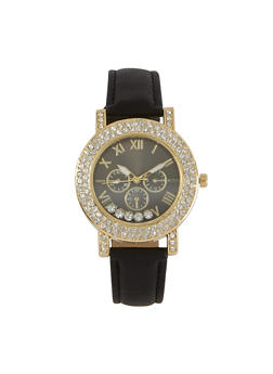 Floating Rhinestone Watch | 3140071433548 - 3140071433548