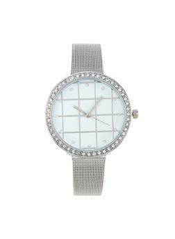 Metallic Mesh Watch - 3140071434001