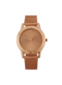 Metallic Mesh Watch - 3140071434789