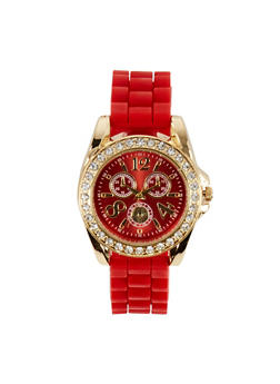Rhinestone Bezel Watch | 3140071434854 - 3140071434854