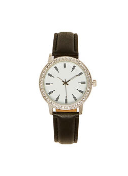Rhinestone Bezel Watch | 3140071436631 - 3140071436631