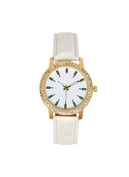 Rhinestone Bezel Watch | 3140071436631 - 3140071436631