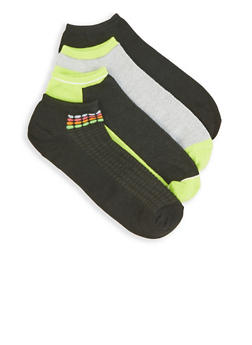 Set of 4 Ankle Socks - 3143041451617