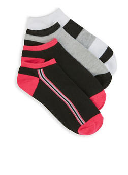 Set of 4 Ankle Socks - 3143041451617