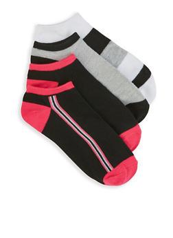 Set of 4 Ankle Socks - 3143041451618