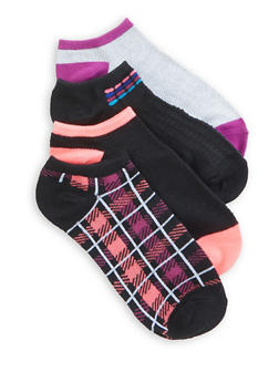 Set of 4 Assorted Ankle Socks - 3143041452318