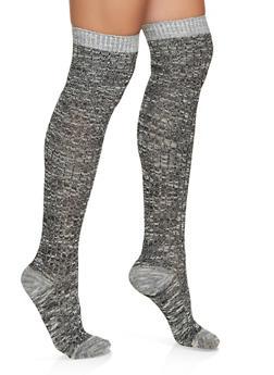 Knit Knee High Socks - 3148041450111