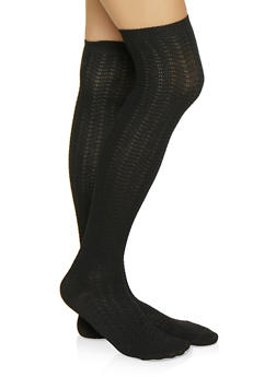 Knit Over the Knee Socks - 3148041451103