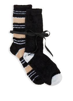 2 Pack Cozy Socks - 3148041452075