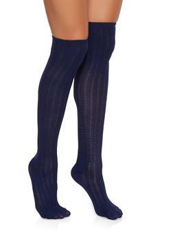 Over the Knee Knit Socks - 3148041458103