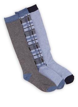3 Pack Assorted Knee High Socks - 3148041459808
