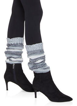 Knit Leg Warmers - HEATHER - 3149068065556