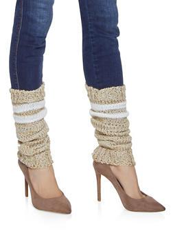 Knit Leg Warmers - IVORY - 3149068065556
