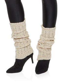 Knit Leg Warmers - 3149068065557