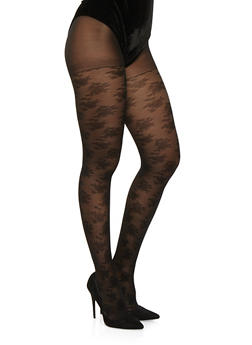 Jacquard Tights - 3150068060788