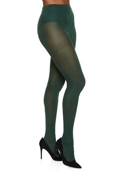 Opaque Footed Tights - 3150068066544