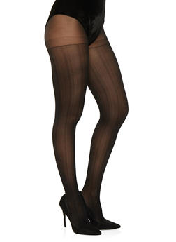 Textured Tights - 3150068067803