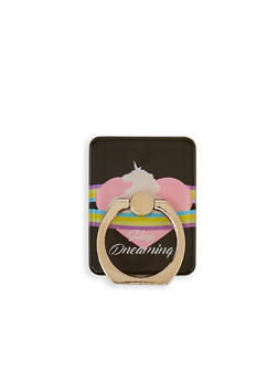 Keep Dreaming Unicorn Phone Ring Stand - 3163066413557