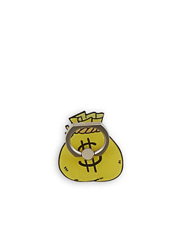 Money Bag Phone Ring Stand - 3163066417638