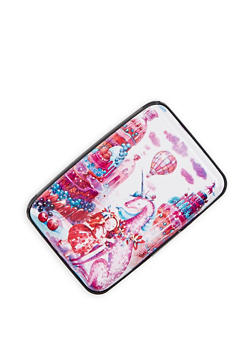 Unicorn Print Card Wallet - 3163067443665