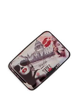 Printed Card Wallet - 3163067444545