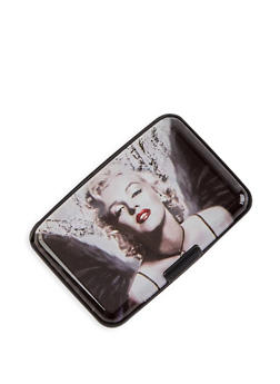 Graphic Print Card Wallet - 3163067446699