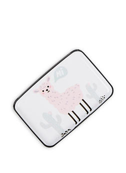 Llama Graphic Card Wallet - 3163067446887