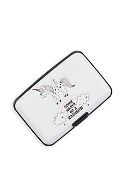 Unicorn Graphic Card Wallet - 3163067446999
