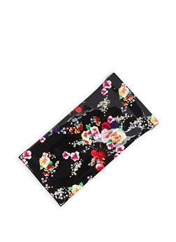 Floral Sunglasses Pouch - 3163067448022