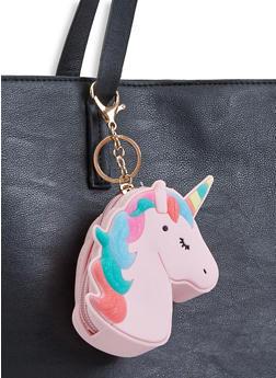 Jelly Unicorn Pouch Keychain - 3163067449003