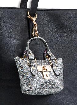 Glitter Mini Purse Keychain - 3163067449004