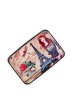 Paris Graphic Card Wallet - 3163067449964