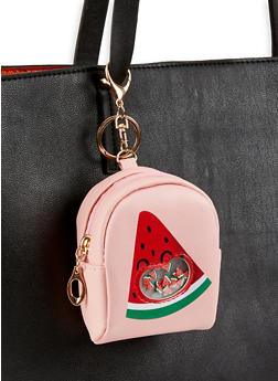 Watermelon Mini Backpack Keychain - 3163074393987