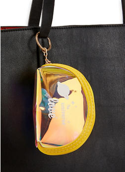 The Universe Love Iridescent Coin Pouch - 3163074394017