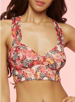 Floral Lace Bralette - 3172068063068