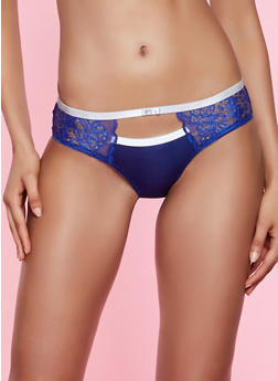 Lace Detail Bikini Panty - 3176064875106