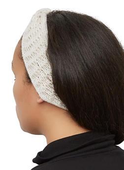 Solid Knit Head Wrap - 3183067444934