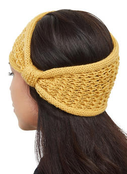 Solid Knit Head Wrap - 3183067444934