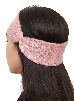 Sequined Knit Head Wrap - 3183067444942