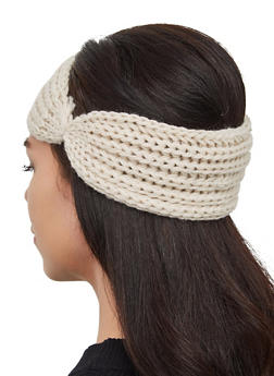 Knit Head Wrap - 3183067444947