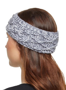Cable Knit Head Wrap - 3183071210041