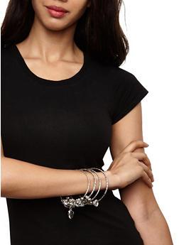 Plus Size Charm Bangles - 3193074140212