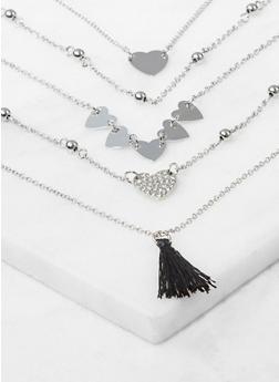 Set of 5 Charm Bracelets - 3193074374526