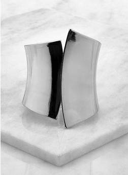 Metallic Cuff Bracelet - 3194074171921