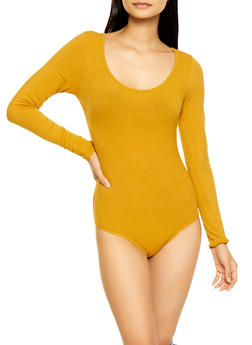 Ribbed Bodysuit - 3307054262151