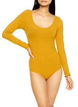 Ribbed Bodysuit - 3307054262151